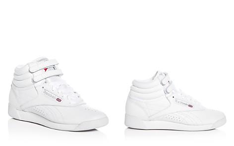Reebok Women's Freestyle Leather High Top Sneakers - Bloomingdale's_2
