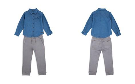 Hudson Boys' Denim Button-Down & Jogger Pants Set - Baby - Bloomingdale's_2