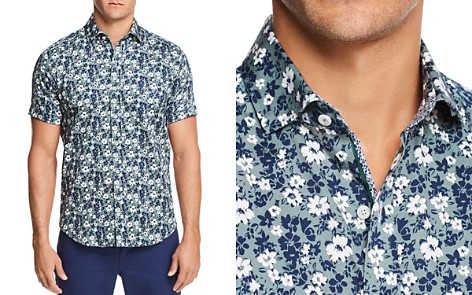 Robert Graham Asher Tropical Short Sleeve Button-Down Shirt - 100% Exclusive - Bloomingdale's_2