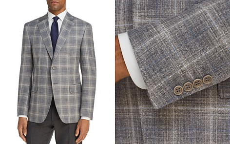 Canali Plaid Slim Fit Sport Coat - Bloomingdale's_2