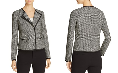 Lafayette 148 New York Caridee Tweed Moto Jacket - Bloomingdale's_2