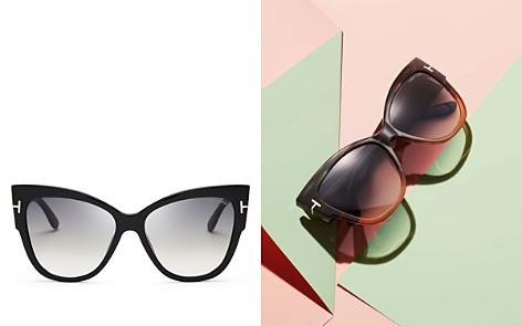 Tom Ford Anoushka Cat Eye Sunglasses, 57mm - Bloomingdale's_2