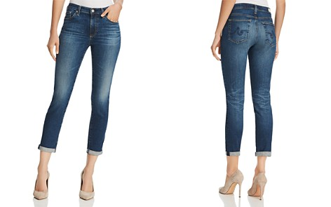 AG Prima Roll-Up Skinny Jeans in 5 Years Cobalt - 100% Exclusive - Bloomingdale's_2