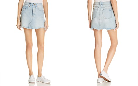 DL1961 Georgia Denim Mini Skirt in Supreme - 100% Exclusive - Bloomingdale's_2