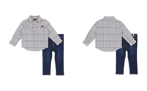 7 For All Mankind Boys' Button-Down Shirt & Jeans Set - Baby - Bloomingdale's_2