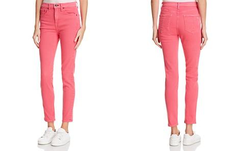 rag & bone/JEAN High Rise Skinny Jeans in Bull Pink - Bloomingdale's_2