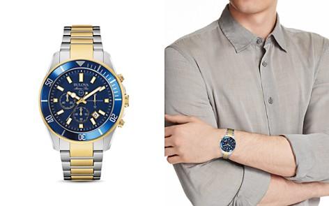 Bulova Marine Chronograph Watch, 43mm - Bloomingdale's_2
