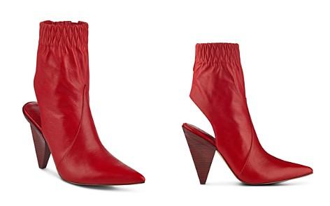 Sigerson Morrison Women's Jojoe Leather Open Back Booties - Bloomingdale's_2