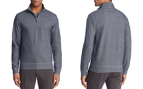 Brooks Brothers Knit Double Face Quarter-Zip Sweater - Bloomingdale's_2