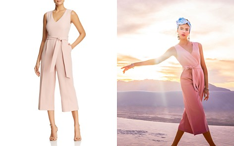 VINCE CAMUTO Belted Cropped Jumpsuit - 100% Exclusive - Bloomingdale's_2