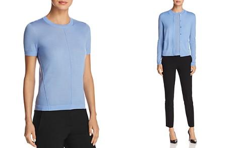 BOSS Fuyuka Short Sleeve Virgin Wool Sweater - Bloomingdale's_2