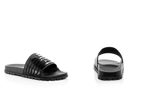 Armani Men's Embossed Logo Slide Sandals - Bloomingdale's_2