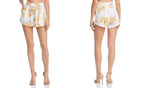 For Love & Lemons Lemonade Belted Shorts - Bloomingdale's_2