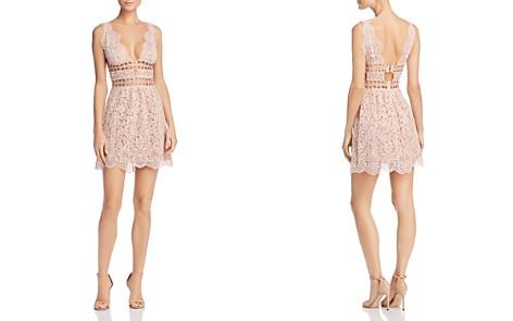 For Love & Lemons Mon Cheri Lace Mini Dress - 100% Exclusive - Bloomingdale's_2