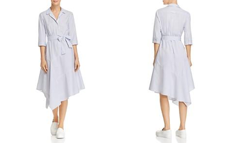 Lafayette 148 New York Casimir Striped Midi Shirt Dress - Bloomingdale's_2
