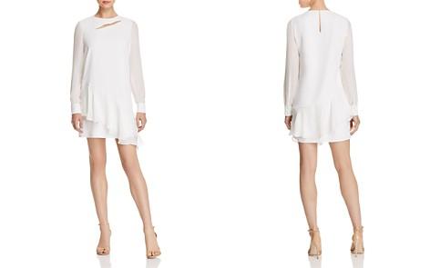 Parker Chloe Asymmetric Cutout Dress - Bloomingdale's_2