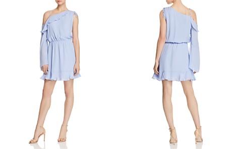 Parker Peyton Asymmetric Silk Dress - Bloomingdale's_2