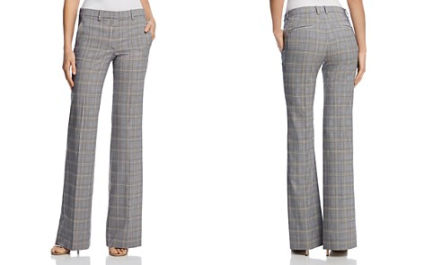 Theory Demitria Plaid Pants - 100% Exclusive - Bloomingdale's_2