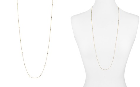 "AQUA Sterling Silver Thin Chain Necklace, 36"" - 100% Exclusive - Bloomingdale's_2"