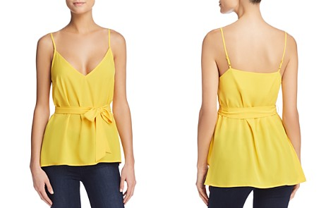FRENCH CONNECTION Dalma Self-Tie Sash Top - Bloomingdale's_2