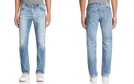 AG Matchbox Slim Fit Jeans in 21 Years Blue Isle - Bloomingdale's_2
