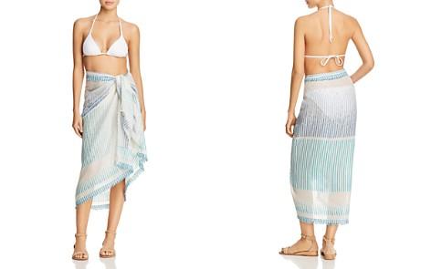 Echo Ocean Stripe Fringed Pareo Swim Cover-Up - Bloomingdale's_2