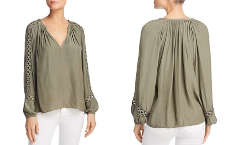 Ramy Brook Sera Grommet-Detail Top - Bloomingdale's_2