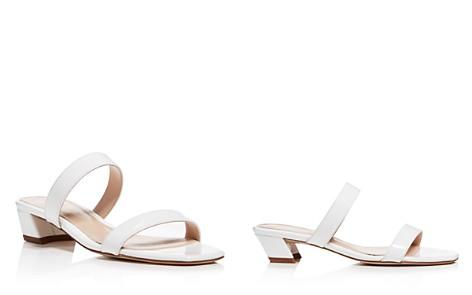 Stuart Weitzman Women's Ava Patent Leather Slide Sandals - Bloomingdale's_2