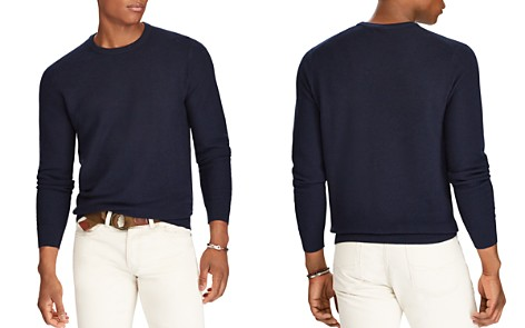 Polo Ralph Lauren Merino-Silk-Cashmere Crewneck Sweater - Bloomingdale's_2