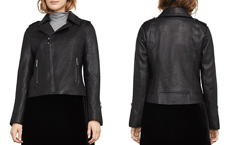BCBGMAXAZRIA Chase Leather Moto Jacket - Bloomingdale's_2