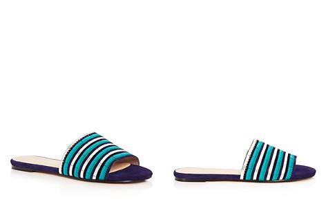Botkier Women's Marley Suede Stripe Slide Sandals - Bloomingdale's_2