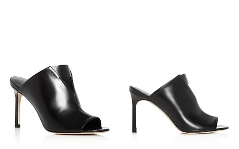 Via Spiga Women's Mira Leather High-Heel Slide Sandals - Bloomingdale's_2