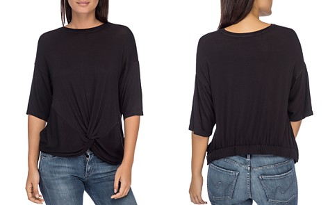 B Collection by Bobeau Niky Twist-Front Top - Bloomingdale's_2