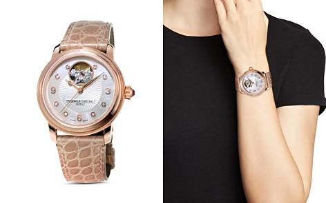 Frederique Constant Heart Beat Diamond Watch, 34mm - Bloomingdale's_2
