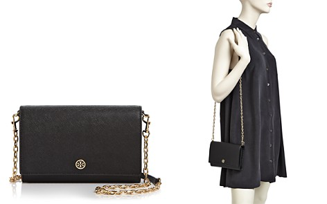 Tory Burch Robinson Leather Chain Wallet - Bloomingdale's_2
