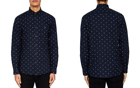 Ted Baker Chimsky Printed Monkey Regular Fit Button-Down Shirt - Bloomingdale's_2