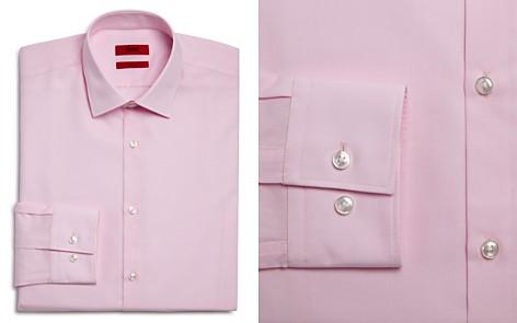 HUGO Solid Slim Fit Dress Shirt - Bloomingdale's_2