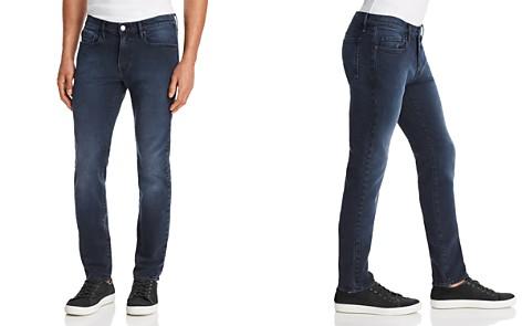 FRAME L'Homme Skinny Fit Jeans in Cobalt - Bloomingdale's_2