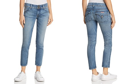 Hudson Collin Mid Rise Skinny Jeans in Hushed - Bloomingdale's_2