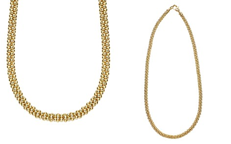 "LAGOS Caviar Gold Collection 18K Gold Rope Necklace, 18"" - Bloomingdale's_2"