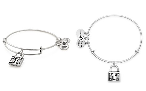 Alex and Ani Unbreakable Love Expandable Wire Bangle - Bloomingdale's_2