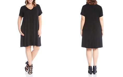 Karen Kane Plus Quinn V-Neck Pocket Dress - Bloomingdale's_2