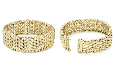 LAGOS Caviar Gold Collection 18K Gold Wide Beaded Bracelet - Bloomingdale's_2