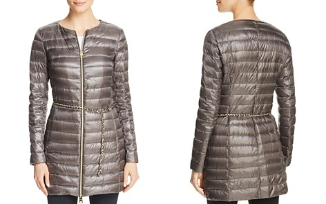 Herno Belted Nylon Down Coat - Bloomingdale's_2