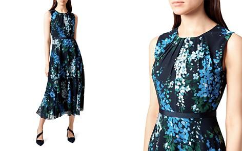 HOBBS LONDON Brea Floral Print Midi Dress - Bloomingdale's_2