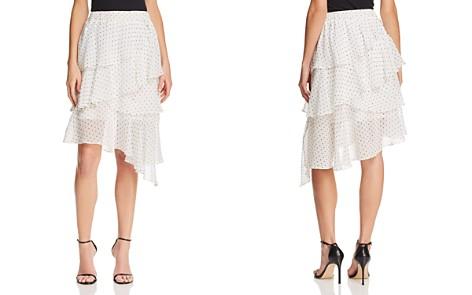 AQUA Tiered Polka Dot Skirt - 100% Exclusive - Bloomingdale's_2