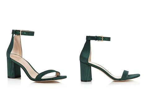 Stuart Weitzman Women's Lessnudist Grosgrain Ankle Strap Sandals - Bloomingdale's_2