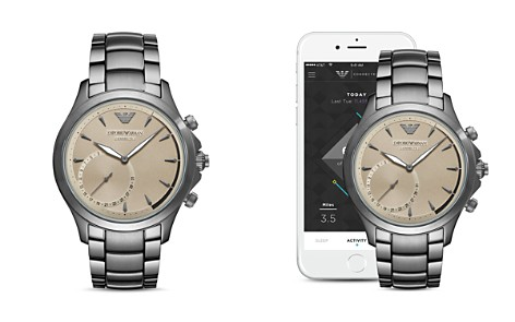 Armani Connected Hybrid Smartwatch, 43mm - Bloomingdale's_2