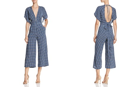 Faithfull the Brand Cedric Checkered Jumpsuit - 100% Exclusive - Bloomingdale's_2