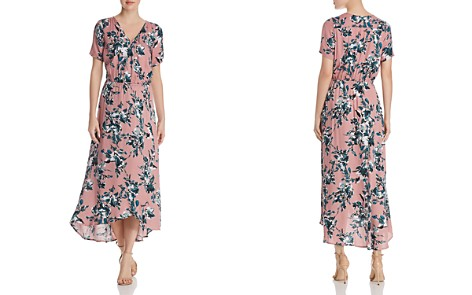 Splendid Floral Print Faux-Wrap Maxi Dress - Bloomingdale's_2